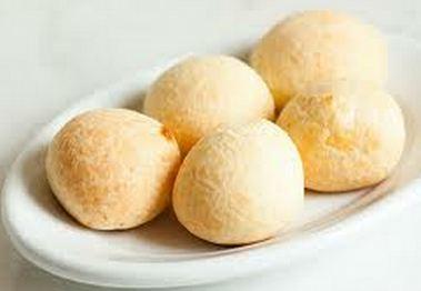 Pão de queijo torrado