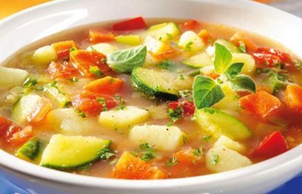 Sopa de Legumes à Grega