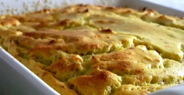Suflê de Frango com Batata