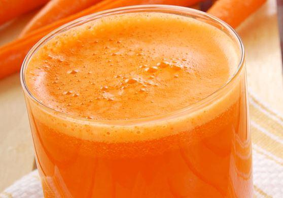 Suco Abacaxi com Cenoura