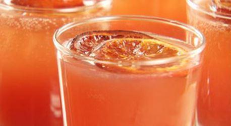 Coquetel de laranja assada