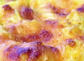 Macarrão com queijo cheddar