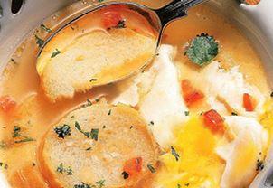 Sopa de Ovo com Tomate