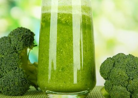Suco de Couve com Brócolis
