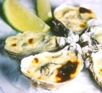 Menu gourmand: ostras gratinadas