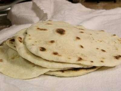 Tortilha de farinha de trigo