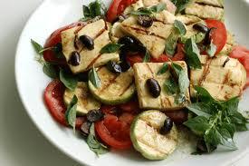 Salada tâmara com coalhada