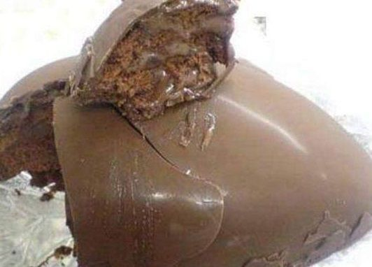 Ovo de Páscoa de Pão de Mel