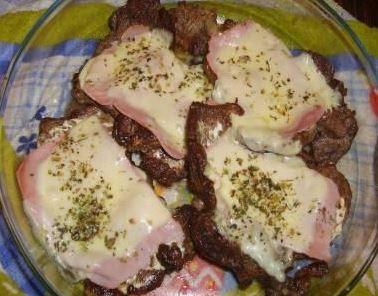 Bife Lasanha