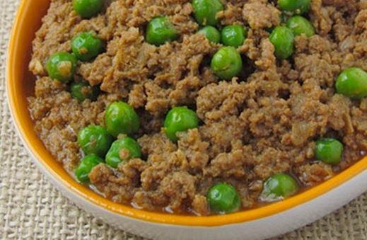 Carne moída de proteína de soja texturizada