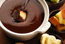 Fondue de Trufa e Chocolate