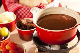 Fondue de Chocolate Bom