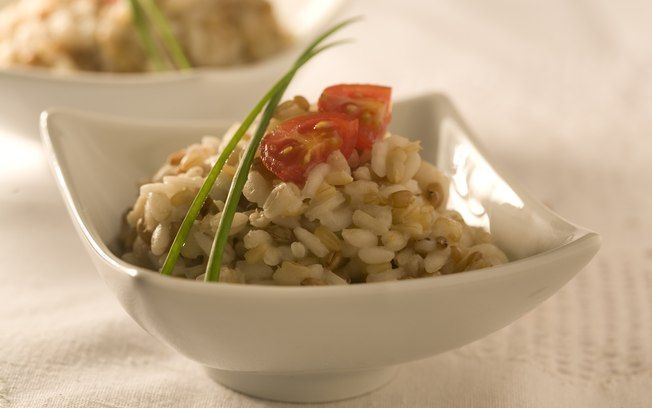 Risoto de grãos light (aveia, cevada e trigo) bom