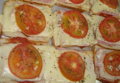 Pizza Rápida de Pão
