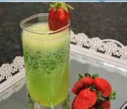 Suco verde anticelulilte
