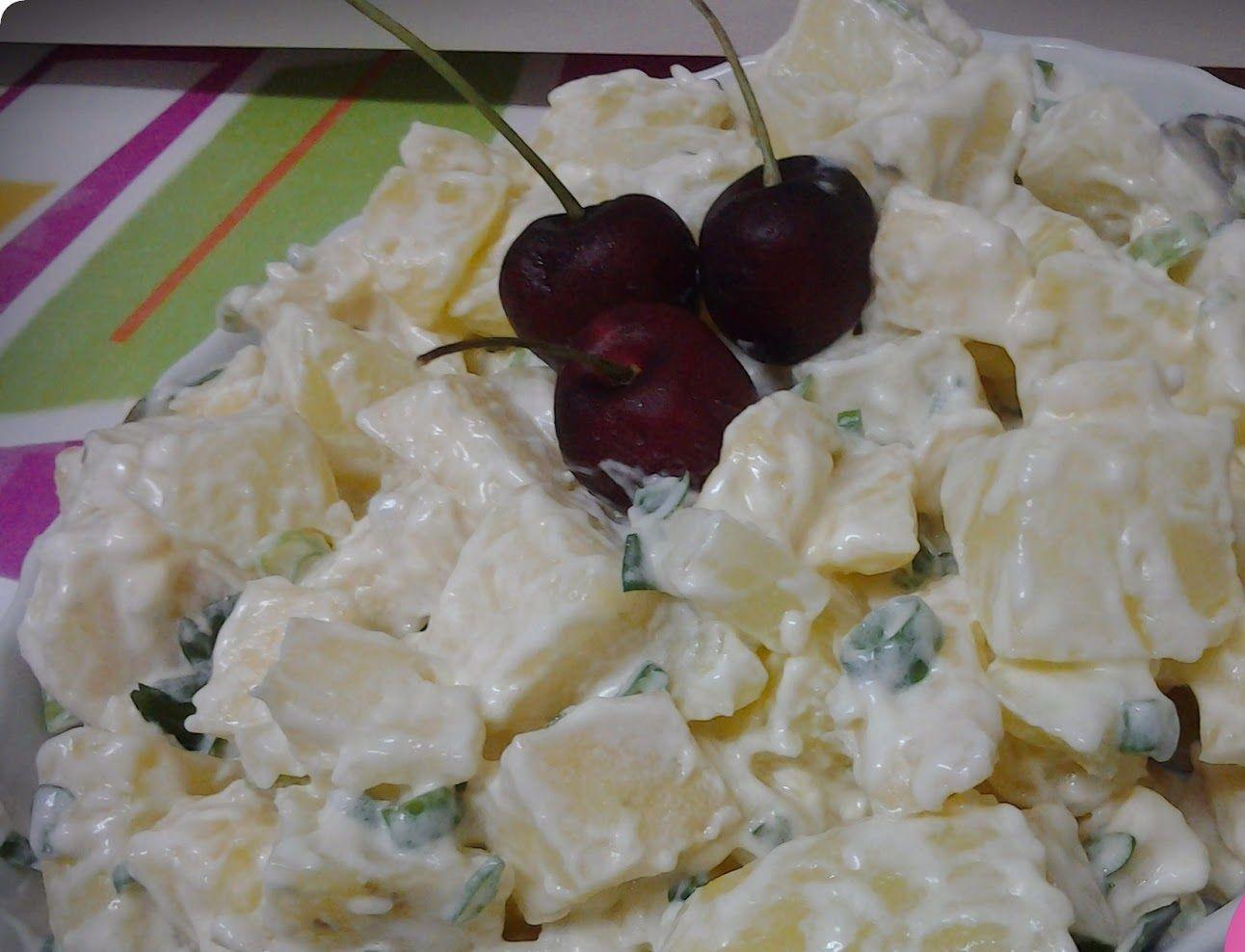 Salada de Palmito e Maçã