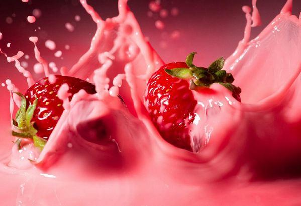 Milk Shake de Morango