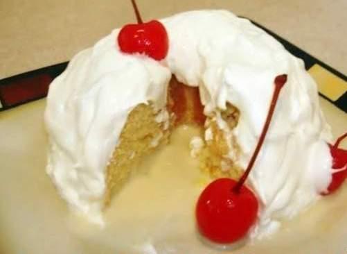 Receita de Torta três Leches