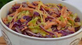 Salada com Couve e Cenoura