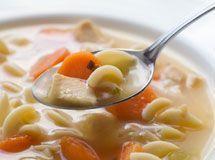 Sopa de Macarrão fácil