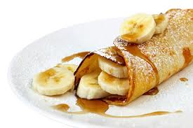 Panqueca de banana