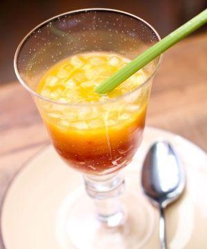 Sopa Fria de Tangerina