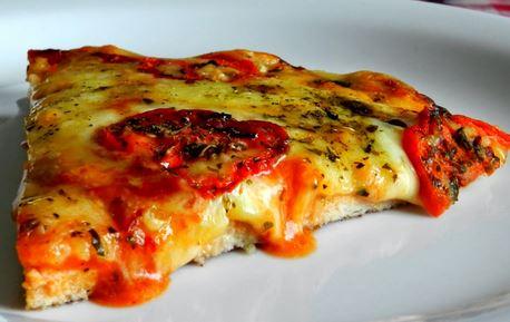 Pizza com Massa de Frango