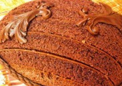 Bolo de Chocolate de Páscoa