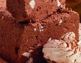 Torta de Suspiro e Chocolate