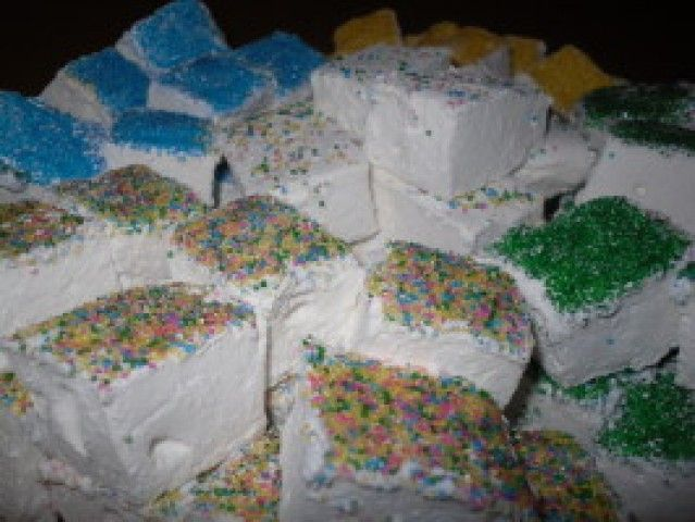 Marshmallows caseiros