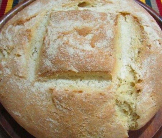 Pão Caseiro de Semolina