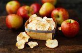 crisps crocantes de maçã