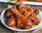 Coxas de frango assada