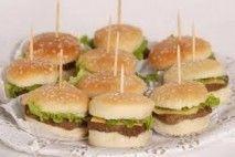 Mini hamburguer