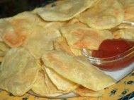 Batata frita no microondas