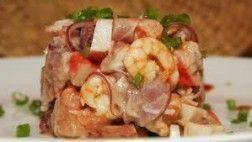 Ceviche de frutos do mar