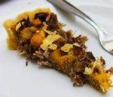 Torta Salgada de Carne Seca e Banana da Terra