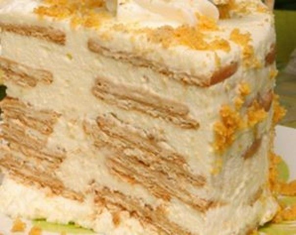 Torta Fria de Bolacha